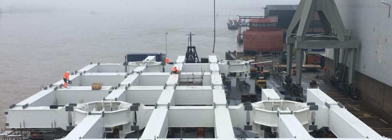 Project offshore platform