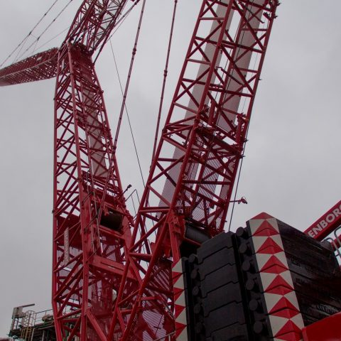 Project 750 tons kraan