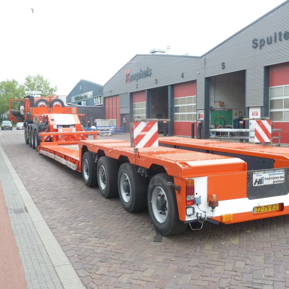 Used low loader