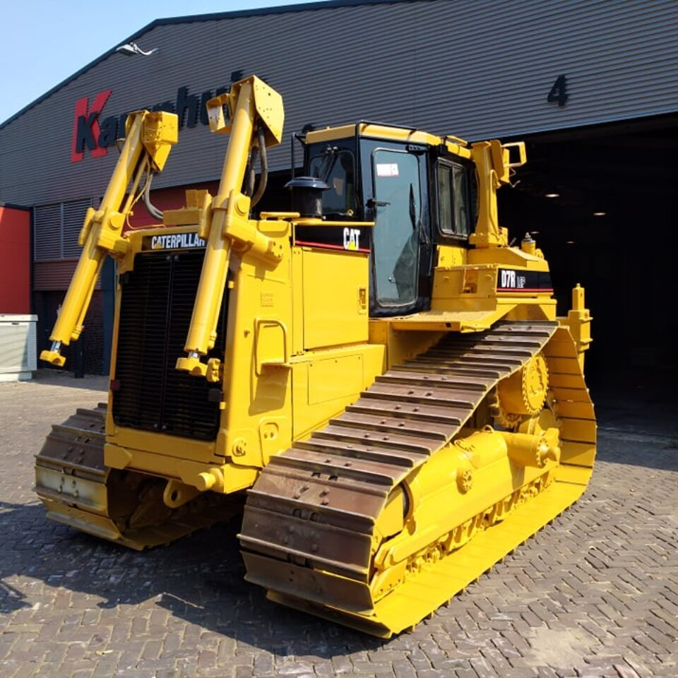 Used bulldozer