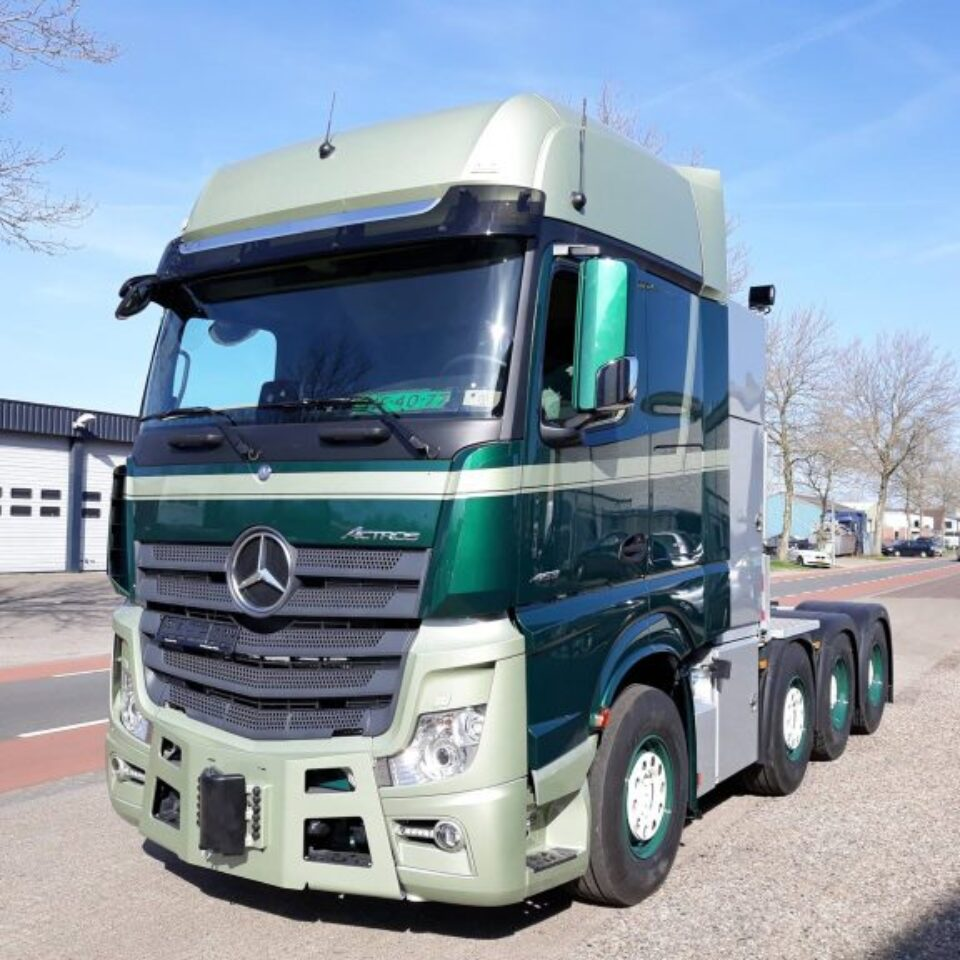 Project truck company colours
